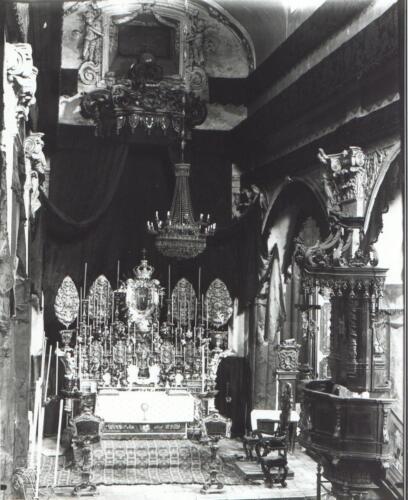 altare maggiore chiesa Parrocchiale-324