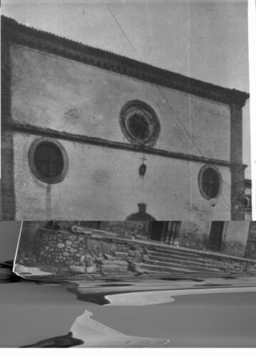 facciata della Parrocchia prima del 1915-397